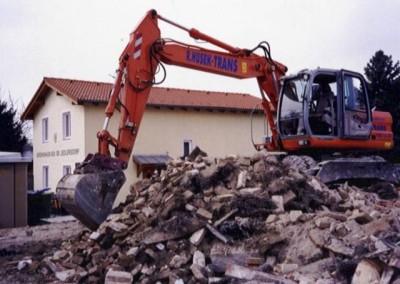 2006 – Abbruch des alten Schutzhauses