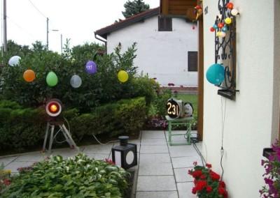 2008 – Fürs Lichterfest geschmückte Parzelle 192