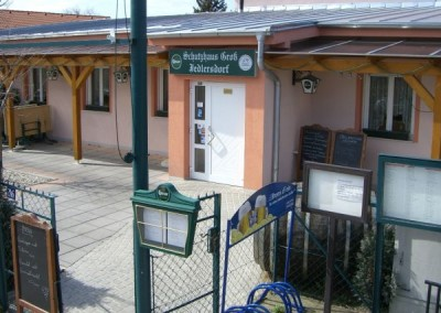 2009 – Eingangsbereich des Schutzhauses