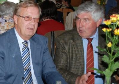 2009 – Die Ehrengäste der 90-Jahr-Feier: Zentralverbands-Präsident Ing. Wohatschek und Bezirks-Obmann Ing. Lesmeister