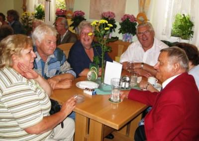 2009 – Einige der langjährigen Mitglieder unter sich