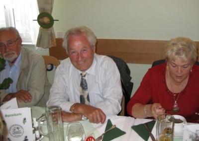 2009 – Altobmann Hauer unter den Festgästen