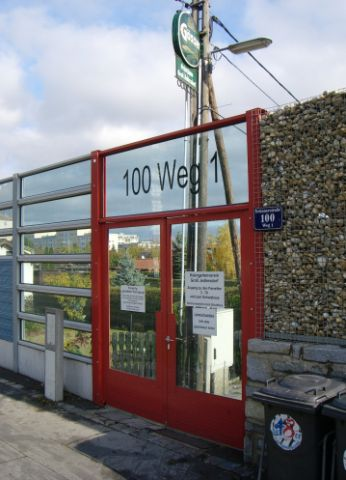 2009 – Eingang Brünner Straße Weg 1
