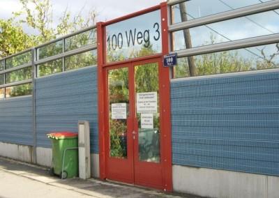 2009 – Eingang Brünner Straße Weg 3