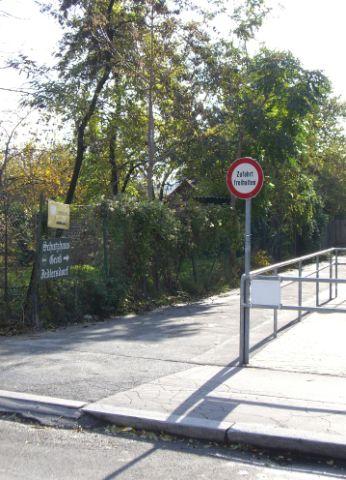 2009 – Zugang von der Siemensstraße zum Hauptweg