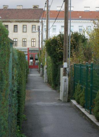 2009 – Blick vom Weg 3 zum Ausgang Brünner Straße