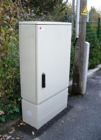 2009 – Elektrokasten der neuen Bauform, aufgestellt ab 2008