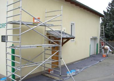 2010 – Fassadensanierung am Vereinshaus
