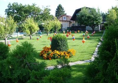 2010 – Dekorierter Garten beim Lichterfest