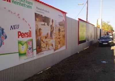 2010 – Neue Plakatwand der Fa. Gewista in der Siemensstraße