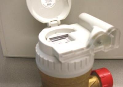 2010 – Im Herbst wurden die alten Wasserzähler gegen neue Funkwasserzähler getauscht