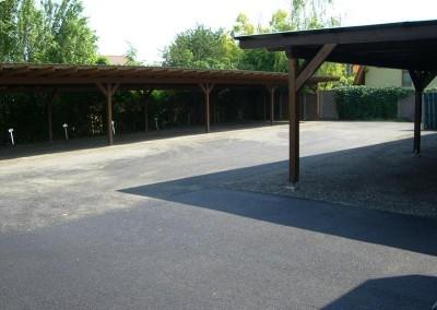 2012 - Generalsanierter Parkplatz Weg 5