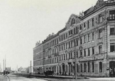 1911 - Blick von der Brünner Straße (Ecke Shuttleworthstraße) in Richtung Stammersdorf.