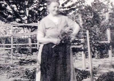 Sommer 1930 in einem Garten in der heutigen Gruppe 5