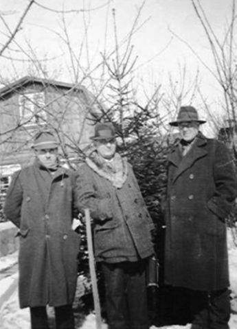 1939 - Vereinsfunktionäre im Gespräch