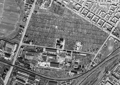 1956 – Luftbild der Anlage